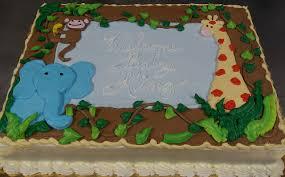 jungle theme baby shower cake santoni s jungle baby shower cake baby shower sheet cakes