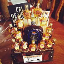 crown royal gift set crown royal gift basket diy crown royals and gift