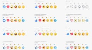 Meme Faces Meaning - facebook reactions the totally redesigned like button is here