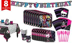 monster high party supplies monster high birthday ideas party city
