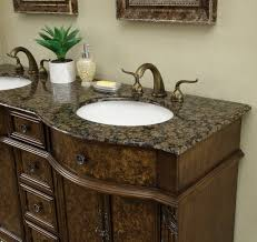 60 inch victorian double sink bathroom vanity cabinet with baltic