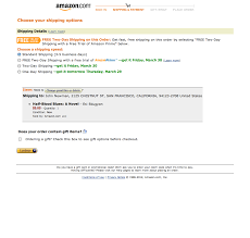 Director Of Ecommerce Resume Amazon U0027s Checkout Step 5 Delivery Options Usability Benchmark