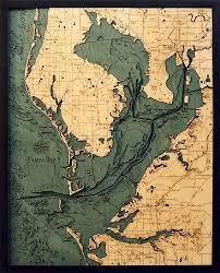 Tampa Bay Map Below The Boat Tampa Bay