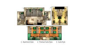 Housing Styles Accommodation At University Of South Florida
