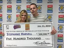 bay city woman wins 500 000 prize playing michigan lottery u0027s