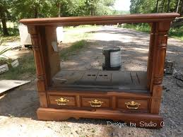 repurposed furniture ideas tv cabinet how to rev an old console tv cabinet 4 old tv new cabinet