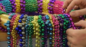 mardi gras bead wreath get ready for mardi gras create a mardi gras wreath at mobile