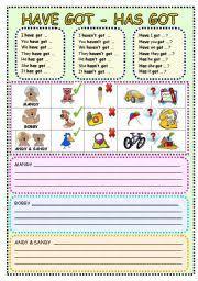 have got has got workheet n 330698