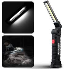 rechargeable magnetic work light cob led inspection l magnetic work light rechargeable hand torch