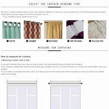 top finel lucky star design 100 polyester modern window curtain