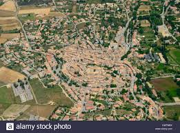 Provence France Map by Aerial View Of Old Valensole Town Alpes De Haute Provence France