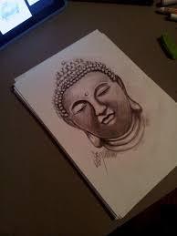 buddha sketch by hausofch on deviantart