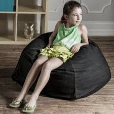 kids durable bean bag chair wayfair