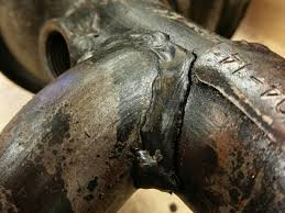 nissan frontier years to avoid cracked frontier xterra pacesetter exhaust manifold with pics
