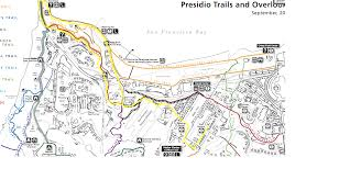 Presidio San Francisco Map by Hiking Cub Scout Pack 1776