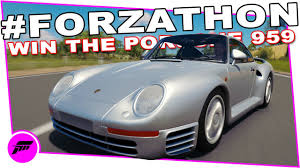 custom porsche 959 forzathon summertime blues forza horizon 3 win the porsche 959