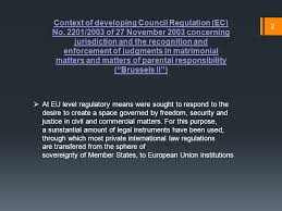 Council Regulation Ec No 44 2001 Brussels Recognition And Enforcement In Romania Of Foreign Judgments In