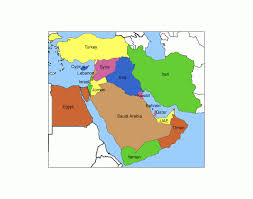 middle east map and capitals middle east capitals quiz purposegames