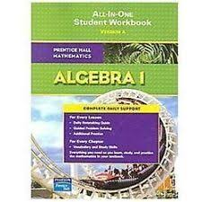 prentice hall algebra 1 ebay