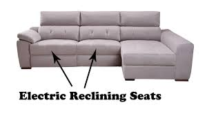 Electric Leather Sofa Electric Recliner Leather Sofas Uk Centerfieldbar Com