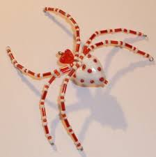 322 best bead spiders images on beaded spiders