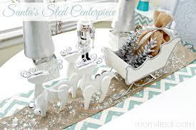 happy holidays santa s sled centerpiece tatertots and jello