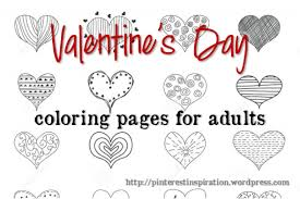 valentine u0027s coloring pages adults inspiration