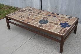 furniture popular tile top coffee table designs tile top coffee