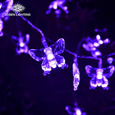 3m light led outdoor decoration wedding lights butterfly