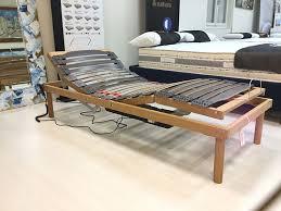 rete con materasso rete motorizzata in legno con materasso memory in omaggio