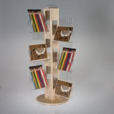 postcard display racks and holders from clear solutions