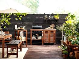 meuble cuisine d été cuisine d exterieur des cuisines d ete qui donnent envie 27072html