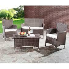 Modern Wicker Patio Furniture Conversation Sets You U0027ll Love Wayfair
