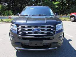 2017 New Ford Explorer Xlt 4wd At Watertown Ford Serving Boston