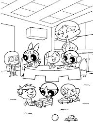 powerpuff girls coloring pages1 coloring kids