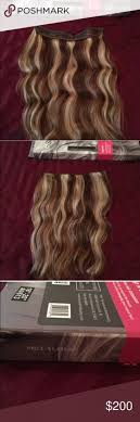 how to cut halo hair extensions blonde highlighted halo hair extensions 18 heiligenschein haar