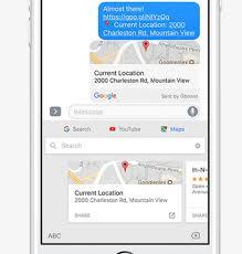 Maps Goo Großes Update Für Das Ios Gboard Einfügen Von Youtube Videos