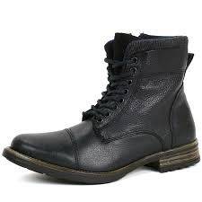 mens high motorcycle boots gbx mens tosh ankle high boots lace up combat style casual comfort
