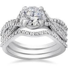 walmart white gold engagement rings wedding rings bridal sets kmart wedding rings trio