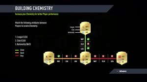 fifa 18 chemistry guide what is chemistry why is it important