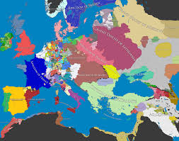 Europe Map During Ww1 Europe In 1500 Europe