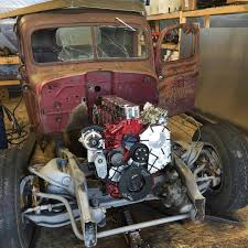 Old Ford Truck Diesel Conversion - dodge rod with a 1 300 hp cummins i6 u2013 engine swap depot