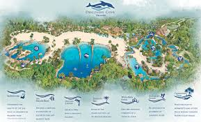 Florida Map Orlando by Discovery Cove Magical Distractions
