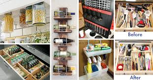 organize kitchen ideas 45 small kitchen organization and diy storage ideas diy projects