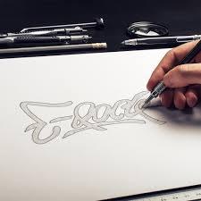 sketching ideas for dj e rock u0027s logo design by r one creative r