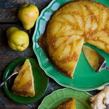 triple ginger pear upside down cake lost recipes found
