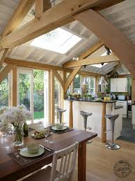 a frame kitchen ideas living the oak oak framing surrey