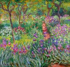 famous paintings of flowered gardens 1st art gallery