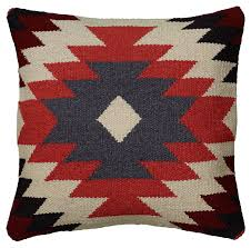 amazon com rizzy home t05811 woven southwestern patten decorative amazon com rizzy home t05811 woven southwestern patten decorative pillow 18 by 18 inch orange home kitchen