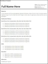 free pdf resume template free pdf resume restama info